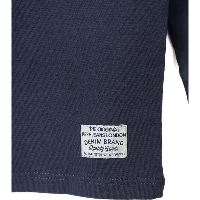 Tadeo Longsleeve Pepe Jeans London navy blue