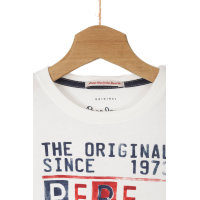 Longsleeve Tadeo Pepe Jeans London kremowy