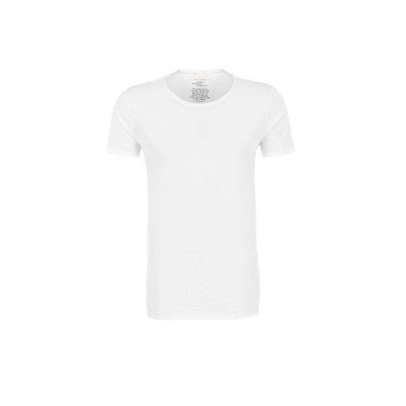 T-shirt Tooles Boss Orange biały