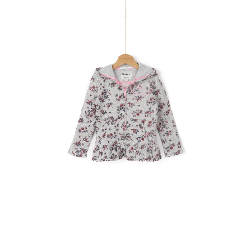 Flora Sweatshirt Pepe Jeans London ash gray