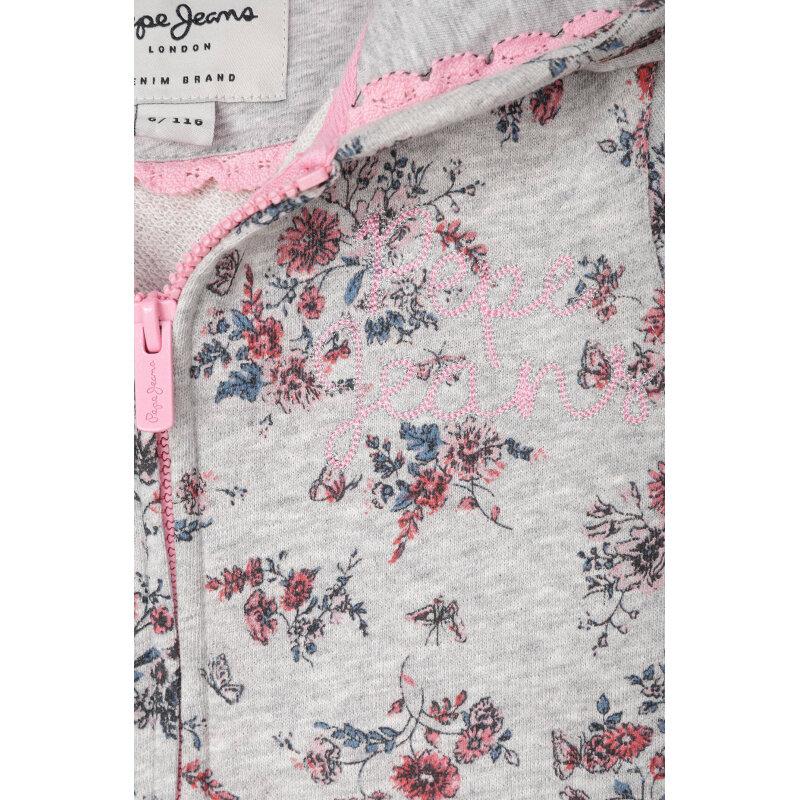 Bluza Flora Pepe Jeans London popielaty