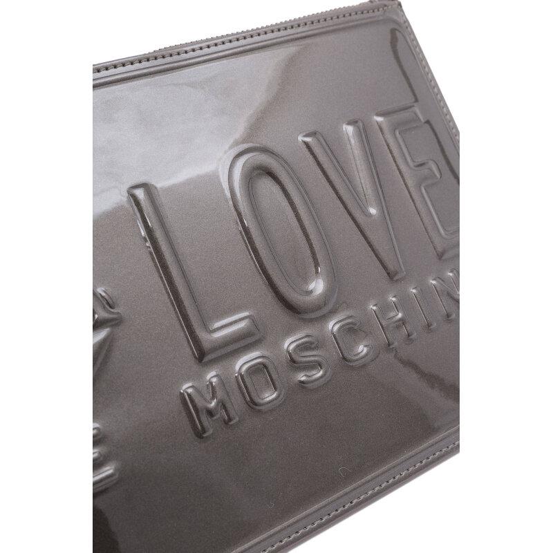 Kopertówka Love Moschino szary