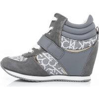 Sneakersy Virdiana Calvin Klein Jeans szary