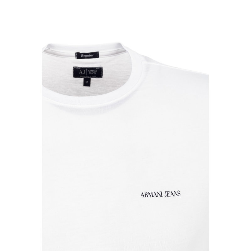 T-shirt Armani Jeans biały