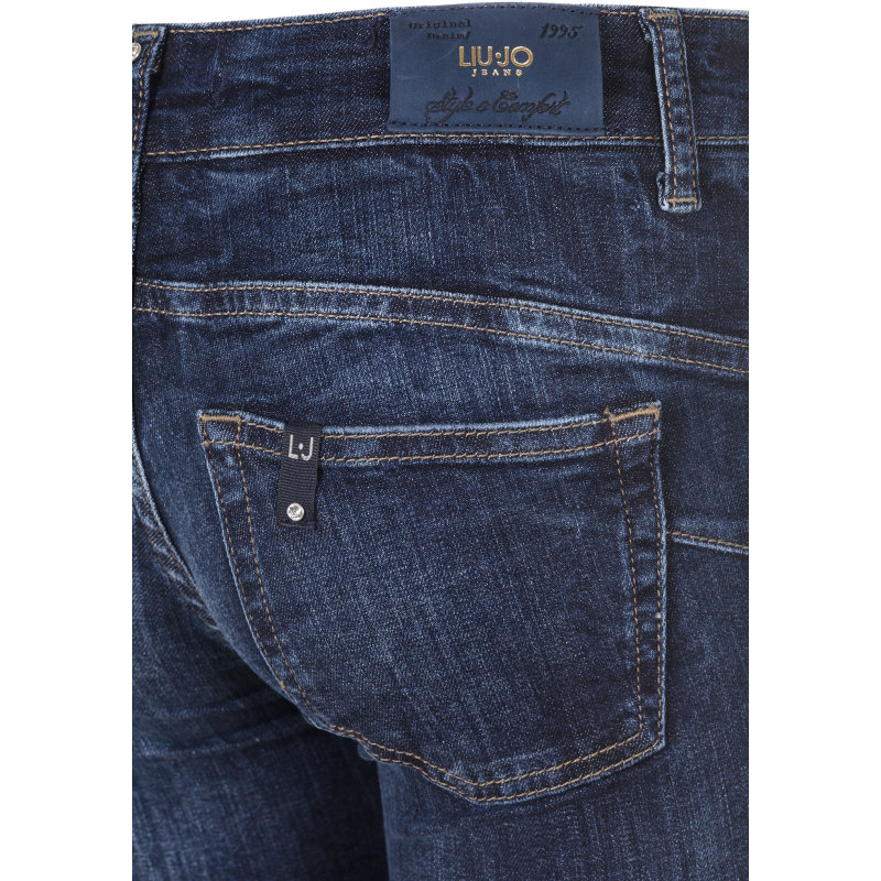 Jeansy Bottom Up Liu Jo Jeans granatowy