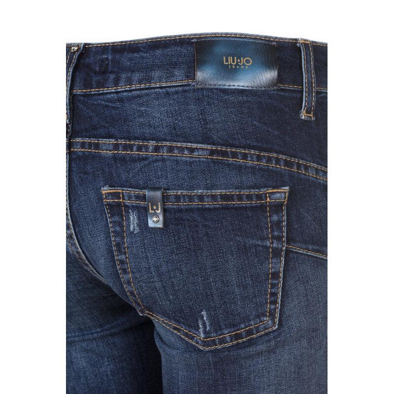 Jeansy Bottom Up Liu Jo Jeans granatowy