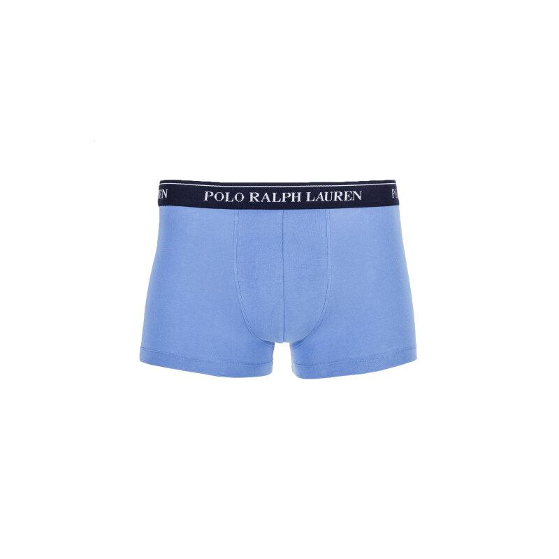 Bokserki 3 Pack Polo Ralph Lauren niebieski