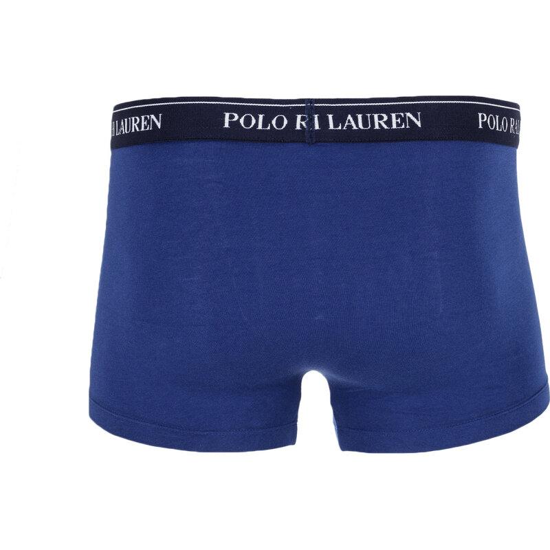 Bokserki 3-Pack Polo Ralph Lauren niebieski