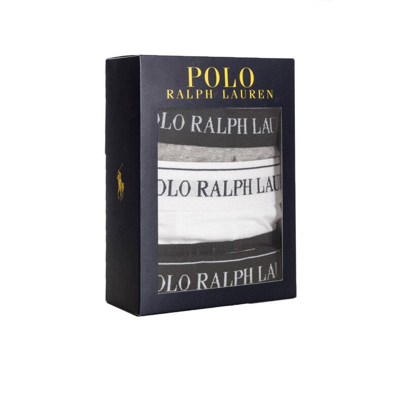 Bokserki 3 Pack Polo Ralph Lauren biały