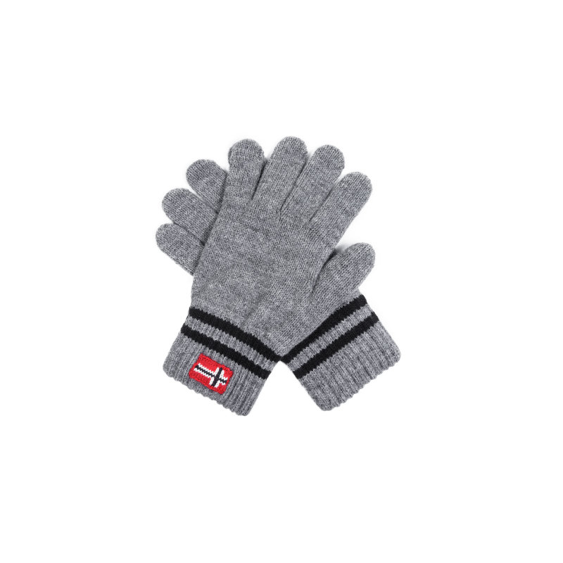 Rękawiczki Fovar Napapijri popielaty