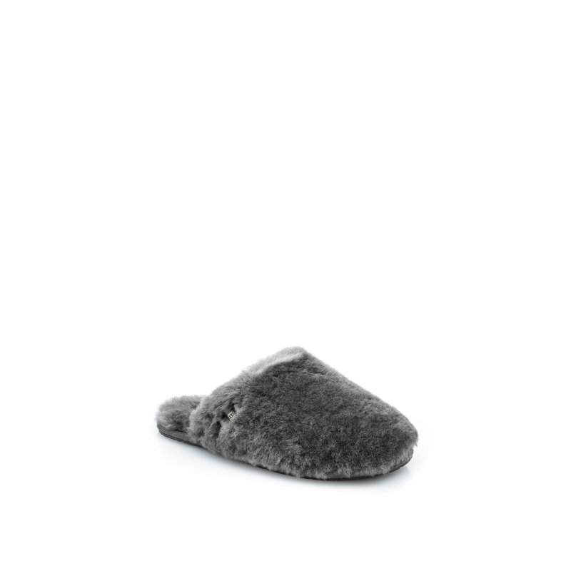 W Fluff Clog Slippers UGG gray