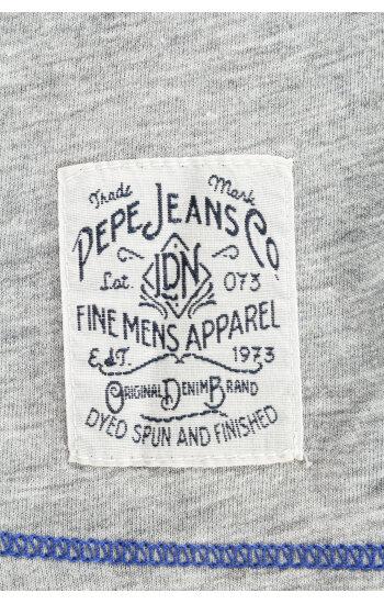 Longsleeve Tobias Pepe Jeans London szary