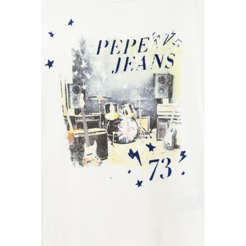 Thayer Longsleeve Pepe Jeans London white