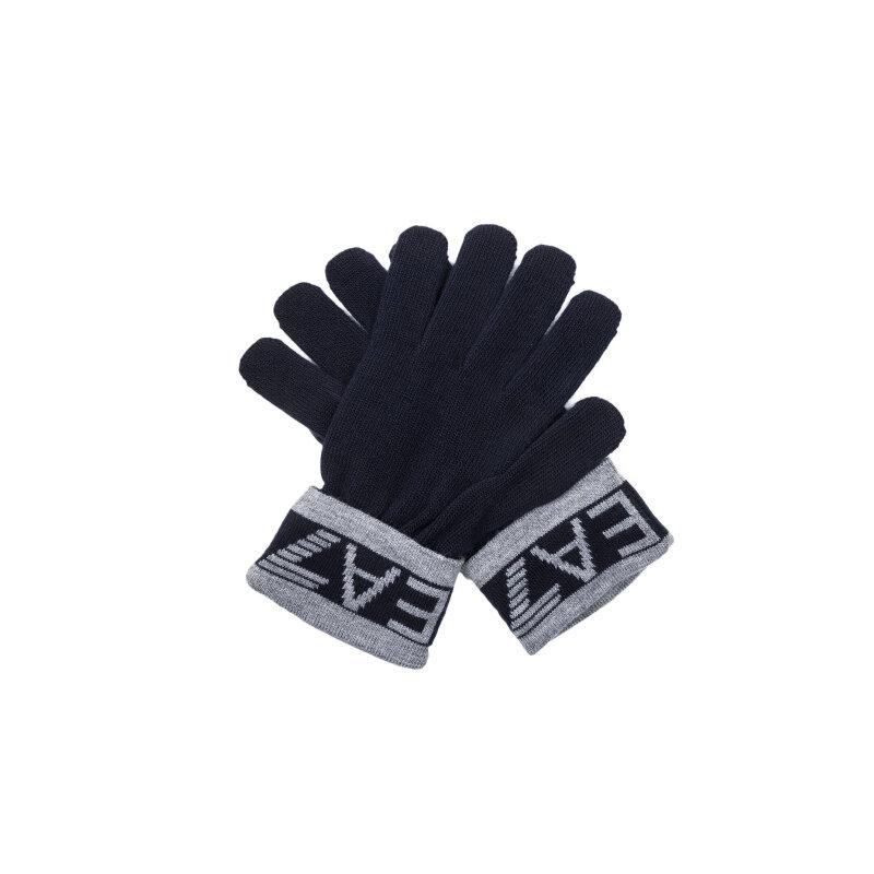 Rękawiczki EA7 granatowy