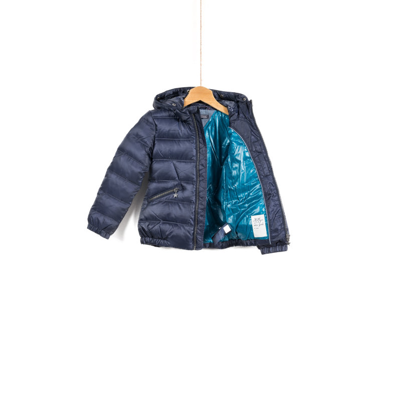 Chiara Down Mini Jacket Tommy Hilfiger navy blue