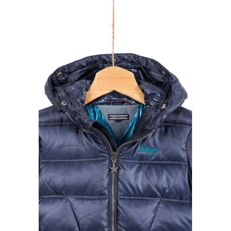 Chiara Down Mini Jacket Tommy Hilfiger navy blue