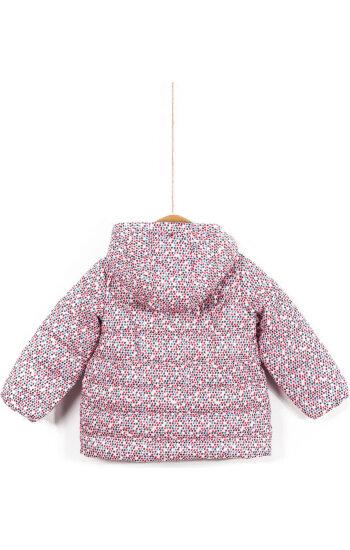 Kurtka Olivia Printed Mini Tommy Hilfiger różowy