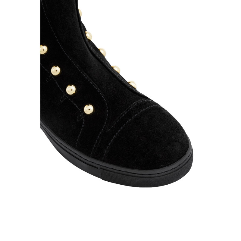 Boxer Boots Stuart Weitzman black