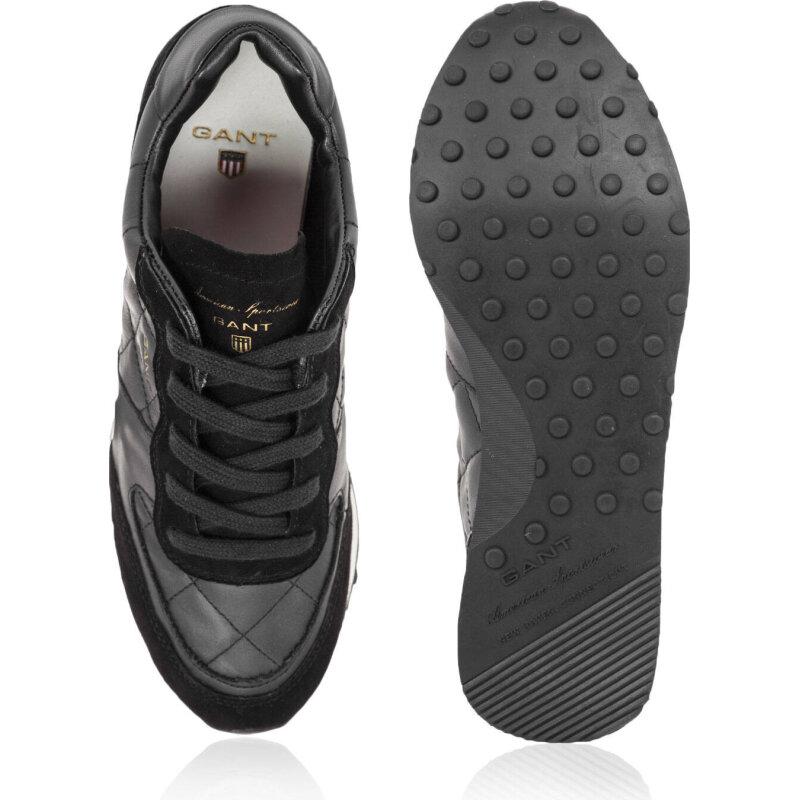 Sneakersy Campus Gant czarny