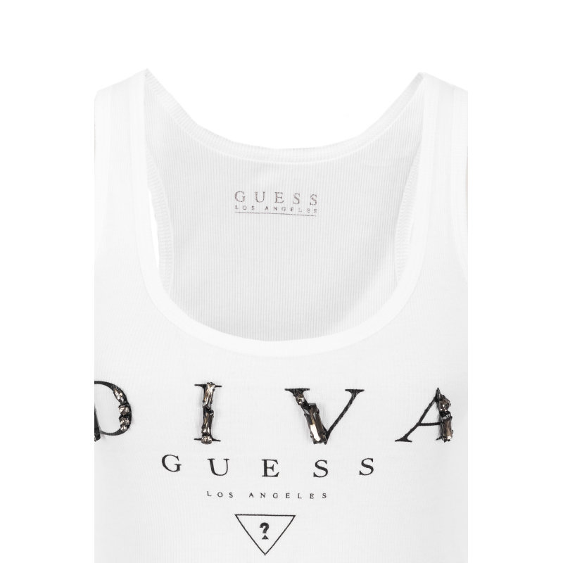 Diva Guess Top Guess Jeans white