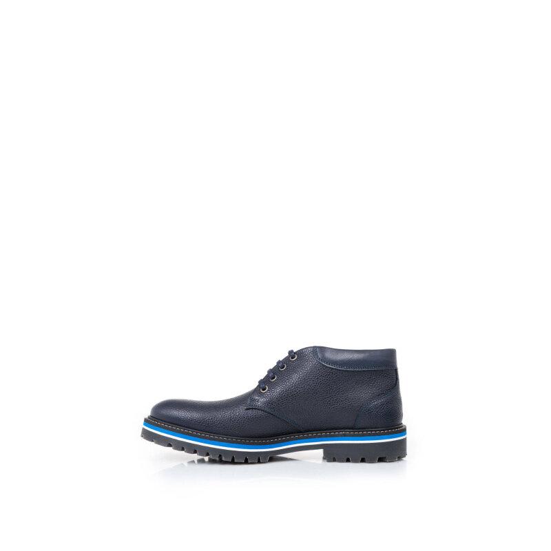 Shoes Armani Collezioni navy blue