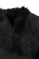 Kożuch Liske Hugo czarny