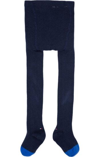Tights Tommy Hilfiger navy blue