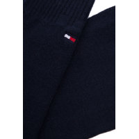 Plain tights Tommy Hilfiger navy blue