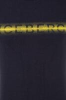 T-shirt Iceberg granatowy