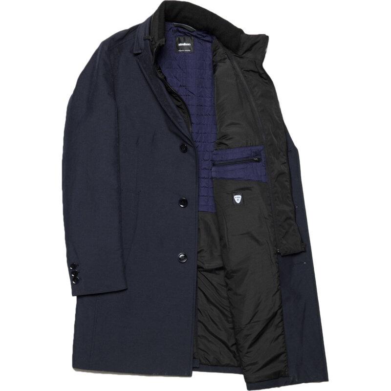 Płaszcz Lerona Strellson Premium granatowy