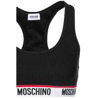 Biustonosz/Bralette Moschino Underwear czarny