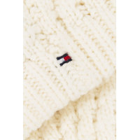Solid Beanie Tommy Hilfiger white