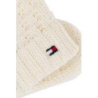 Rękawiczki Solid Mini Tommy Hilfiger biały