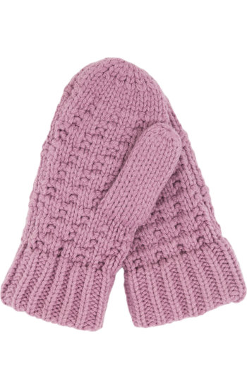 Rękawiczki Solid Mini Tommy Hilfiger różowy