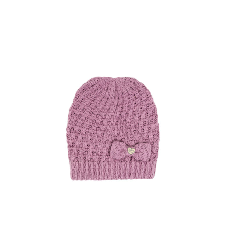 Solid Mini Beanie Tommy Hilfiger pink