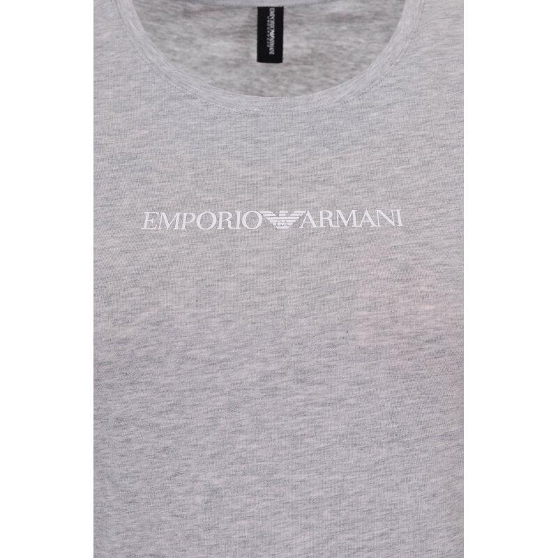 T-shirt Emporio Armani szary