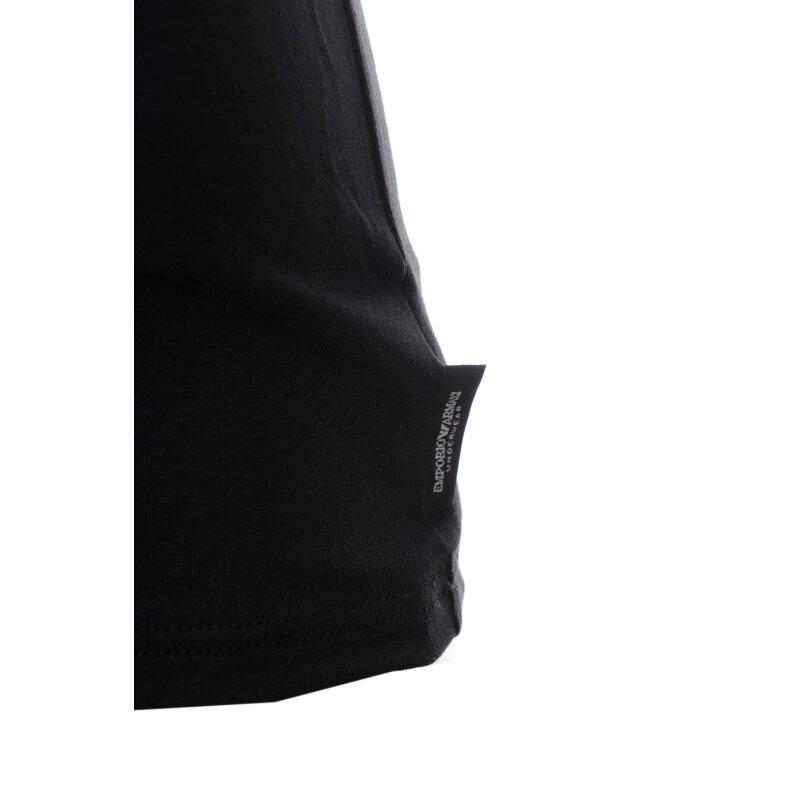 T-shirt Emporio Armani czarny