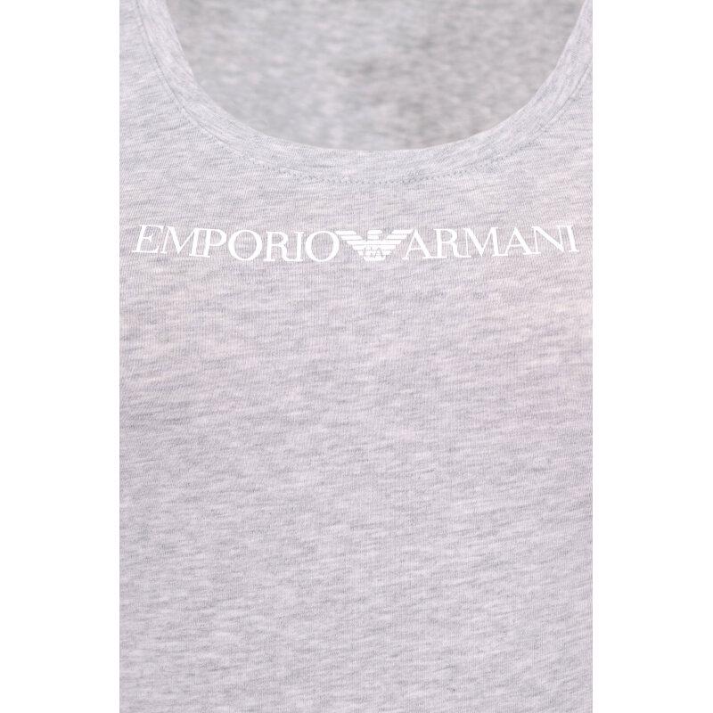 top Emporio Armani szary