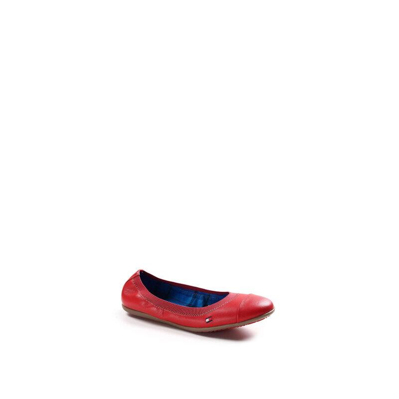 Baleriny Dahlia 10A Tommy Hilfiger czerwony