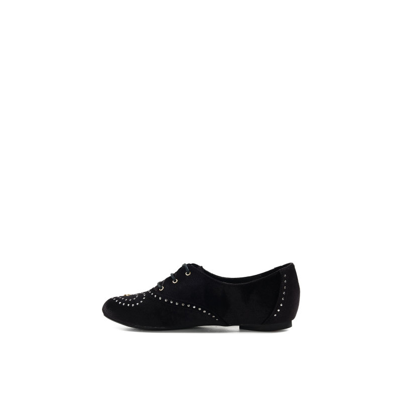 Oxfords Love Moschino black