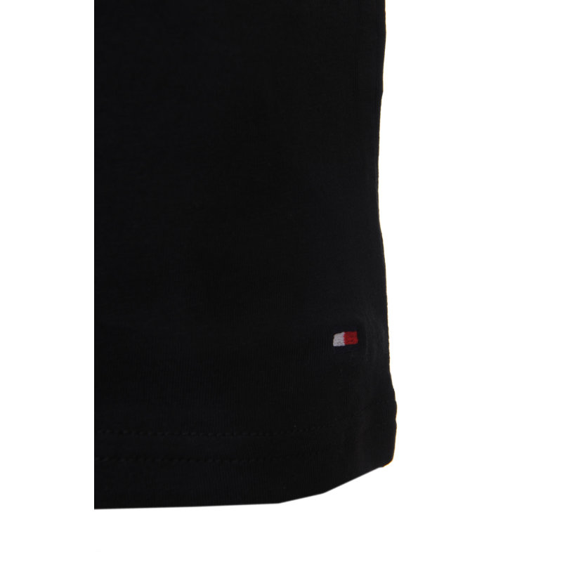 2 Pack T-shirt/Undershirt Tommy Hilfiger black