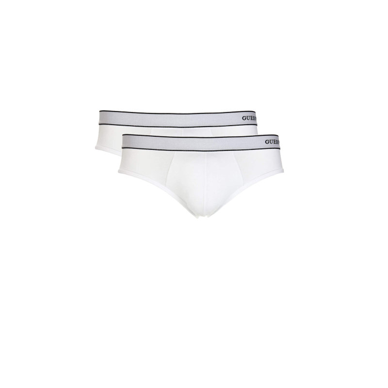 2 Pack Briefs Guess Underwear white