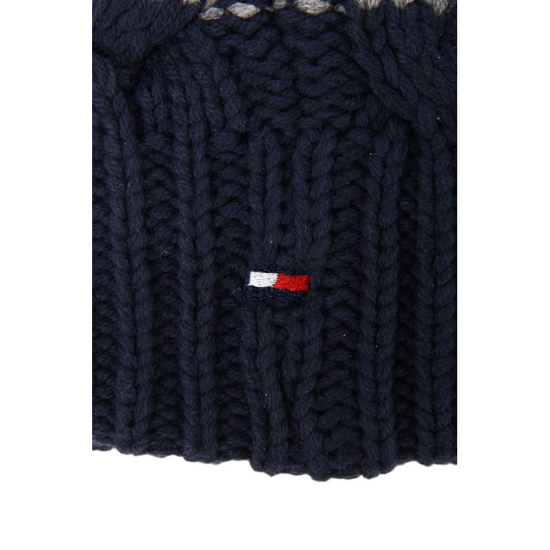 Color block Hat Tommy Hilfiger navy blue