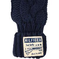 Color Block Gloves Tommy Hilfiger navy blue