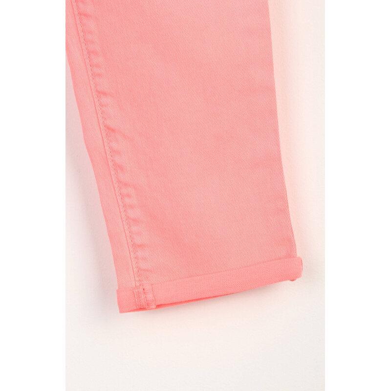 Spodnie Guess koralowy