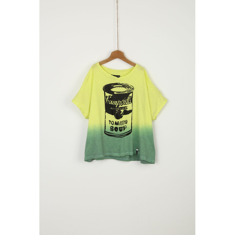Grace T-shirt Pepe Jeans London limonkowy