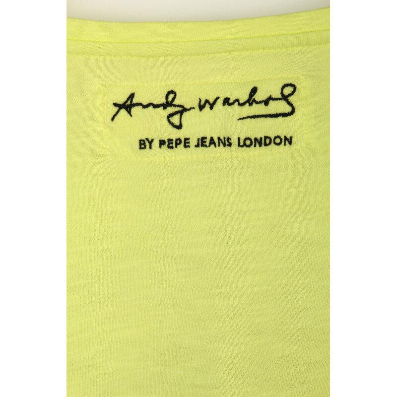 Grace T-shirt Pepe Jeans London lime