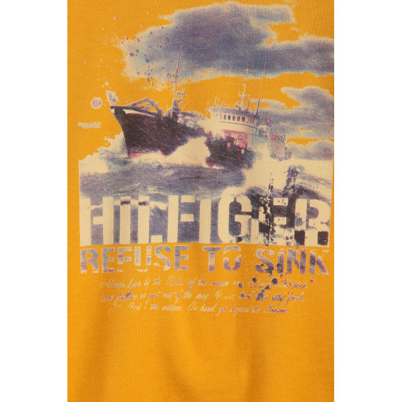 Longsleeve Ocean Tommy Hilfiger musztardowy