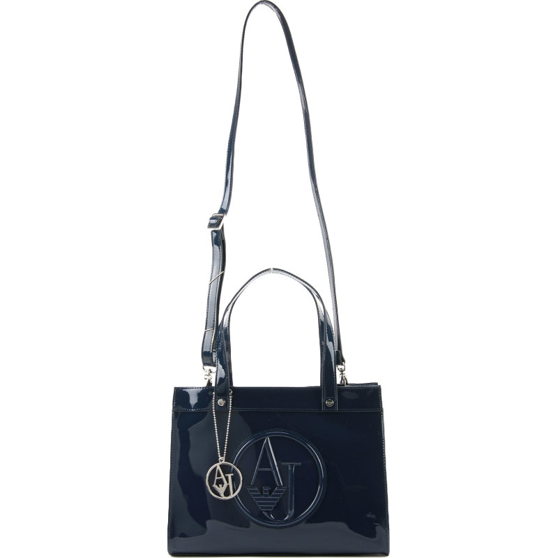 Tote Armani Jeans navy blue
