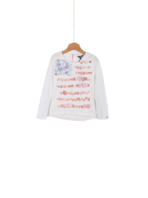 Tommy Hilfiger Bluzka Rose Mini